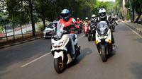 Salah satu perlengkapan berkendara sepeda motor yang wajib dikenakan adalah jaket. (ist)