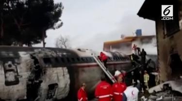 Kecelakaan pesawat kargo terjadi di Teheran Barat, Iran. Kecelakaan ini mengakibatkan 15 orang tewas.