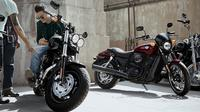 Pengendara Harley-Davidson (Foto: rushlane)
