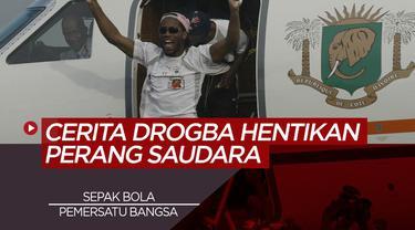 Berita Video tentang mantan pemain Chelsea, Didier Drogba yang berhasil menghentikan perang saudara lewat sepak bola