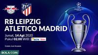 Liga Champions - RB Leipzig Vs Atletico Madrid (Bola.com/Adreanus Titus)