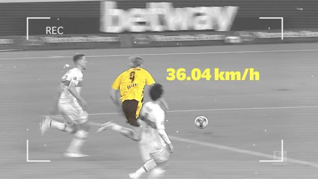 Berita video bintang Borussia Dortmund, Erling Haaland, menjadi manusia tercepat di Bundesliga 2020/2021.