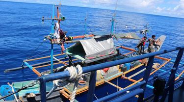 KKP tangkap kapal asing ilegal di perairan Sulawesi