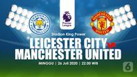 LEICESTER CITY  VS MANCHESTER UNITED  (Liputan6.com/Abdillah)