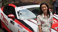 Sabrina Sameh, pembalap cantik andalan TTI (Ikbal/Otosia.com)