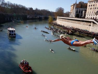 Terjun Bebas di Sungai Tiber