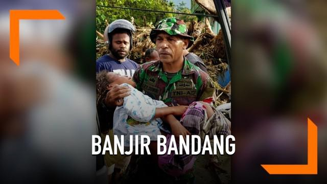 Korban tewas bencana banjir bandang di Sentani terus bertambah, hingga pukul 15.00 waktu setempat jumlah korban tewas mencapai 63 orang.