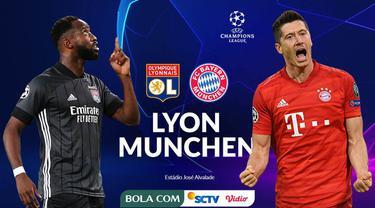 Berita video promo jelang laga semifinal Liga Champions 2019/2020 antara Lyon melawan Bayern Munchen yang akan ditayangkan SCTV dan Vidio pada Kamis (20/8/2020) dinihari WIB. Siapakah yang akan melaju ke final menghadapi PSG?