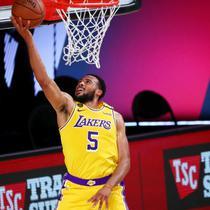 Pemain LA Lakers Talon Horton-Tucker (AP