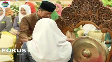 Presiden Jokowi buka kongres Ikatan Pelajar Nahdlatul Ulama (IPNU) dan Ikatan Pelajar Putri Nahdlatul Ulama (IPPNU).