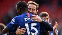 Frank Lampard tak menyangka Chelsea mampu menang telak karena menyebut timnya mengawali laga dengan kurang baik. (AFP/Glyn Kirk)