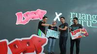 Peluncuran paket belajar Loop Telkomsel khusus untuk aplikasi Ruangguru (Foto: Telkomsel)