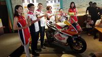 Tim Federal Oil Gresini Moto2 siap kembali ikut andil di ajang balap Moto2 musim 2018. (Herdi/Liputan6.com)