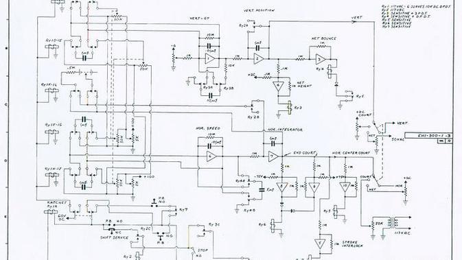 Skematik rancangan perangkat gim pertama di dunia. (Doc: bugsplat.com)