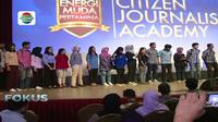 Workshop jurnalistik dan media, public speaking hingga broadcasting, digelar sebagai pembuka rangkaian acara CJA.