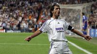 Raul Gonzales mesin gol Real Madrid sebelum era Cristiano Ronaldo (BRU GARCIA / AFP)