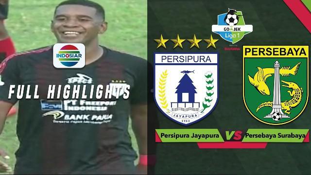 Berita video highlights Gojek Liga 1 2018 bersama Bukalapak antara Persipura Jayapura melawan Persebaya Surabaya yang berakhir dengan skor 3-1, Selasa (30/10/2018).