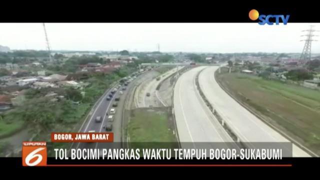 Tol Bogor-Ciawi-Sukabumi (Bocimi) Seksi 1 siap beroperasi pada akhir November tahun ini.