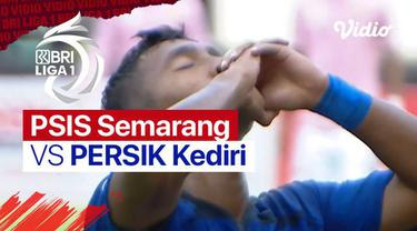 Berita video highlights pertandingan BRI Liga 1 2021/2022 antara PSIS Semarang vs Persik Kediri yang berlangsung pada hari Jumat (15/10/2021) di Stadion Manahan.