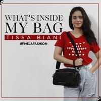 What's In My Bag Tissa Biani