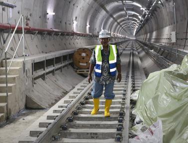 Menko Darmin Pantau Pembangunan Proyek MRT