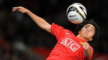 FOTO: 5 Pemain Pencetak Gol Termuda Manchester United di Liga Inggris Sepanjang Sejarah - Rafael da Silva