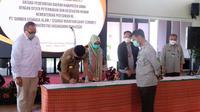 Kementan melalui Ditjen PKH menandatangani nota kesepahaman dengan Pemerintah Kabupaten Gowa dan PT Sumber Citarasa Alam (PT. Cimory Group) serta Kesepakatan Bersama antara Pemda Gowa dan Universitas Hasanudin.