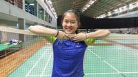 Pebulutangkis putri Indonesia, Ruselli Hartawan, siap fight pada Swiss Open yang digelar 7-9 Maret 2021. (dok. PBSI)