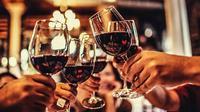 ilustrasi wine. (iStockphoto)
