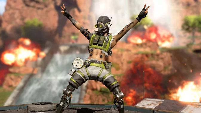 Respawn Entertainment selaku pengembang Apex Legends memperkenalkan karakter baru bernama Octane. (dok. Respawn Entertainment/Electronic Arts)