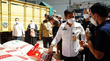 SYL Kunjungi Penggilingan Padi di Cibitung Bekasi, Jabar