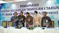 Paparan Kinerja Keuangan Kuartal I-2018 Bank BRI (Dok Foto: Merdeka.com/Dwi Aditya Putra)