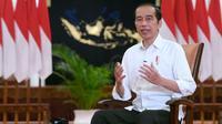 Menyambut tahun 2021, Presiden Joko Widodo (Jokowi) menyampaikan Indonesia mampu bangkit dari pandemi COVID-19. (Biro Pers Sekretariat Presiden)