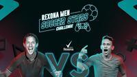 Rexona Men Soccer Stars Challenge, Egy Maulana Vikri vs Irfan Bachdim.