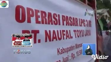 Kelangkaan gas elpiji di Mamasa sudah berlangsung selama 2 pekan lalu. Harga gas elpiji 3 kg kini melambung hingga Rp 30 ribu.