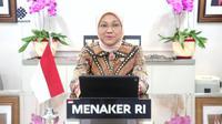 Menteri Ketenagakerjaan RI Ida Fauziyah.(Ist)