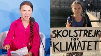 Greta Thunberg (Sumber: EPA-EFE)