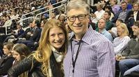 Bill Gates dan putrinya, Jennifer Katherine Gates. (Instagram/ jenniferkgates)