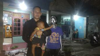 Ibu dan Bayi Manusia Silver yang Viral Kini Ada di Rumah Singgah Dinsos Tangsel