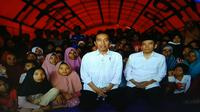 Melalui video call, Presiden Republik Indonesia Joko Widodo berpesan agar masyarakat Indonesia tetap membawa semangat Asian Games 2018.