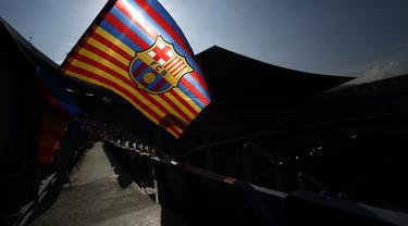 Logo dan ilustrasi Barcelona