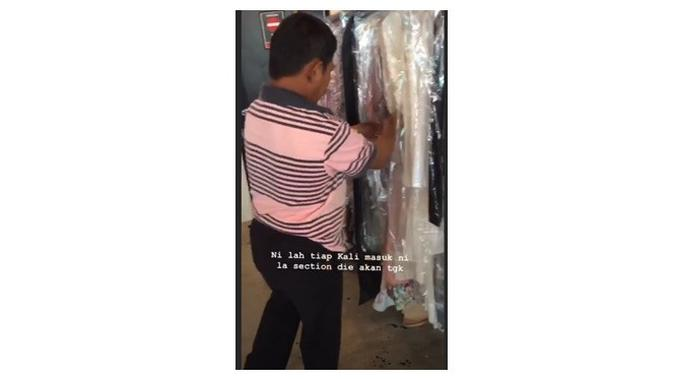 Diskin untuk beli baju (Sumber: Instagram/zachrinjaafars.official)