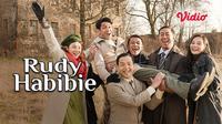 Saksikan film Rudy Habibie hanya di Vidio. (Dok.Vidio)