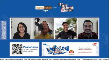 12th SATU Indonesia Awards 2021 Ajak Generasi Muda Maju dengan Manfaatkan  Teknologi