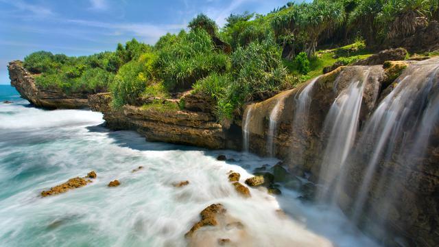 9 Wisata Pantai Jogja Dengan Pemandangan Alam Unik Dan Indah Hot Liputan6 Com