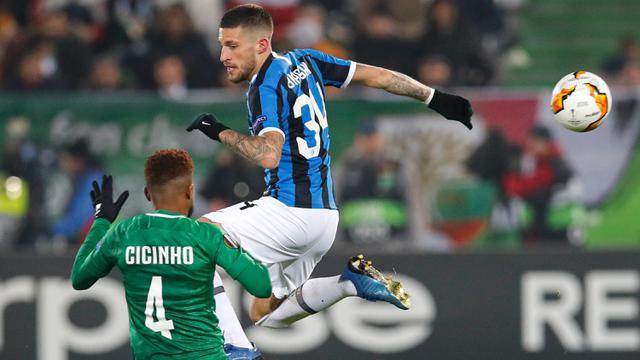 Ludogorets vs Inter Milan