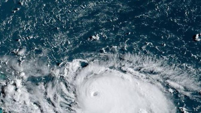 'Mata' badai Dorian (NOAA)