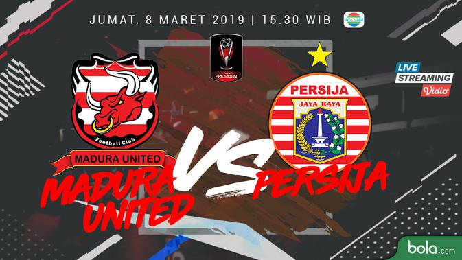 Live Streaming Indosiar: Madura United Vs Persija di Piala ...