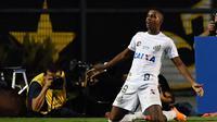 5. Rodrygo (Santos FC) - 36 Juta Pounds. (AFP/Nelson Almeida)