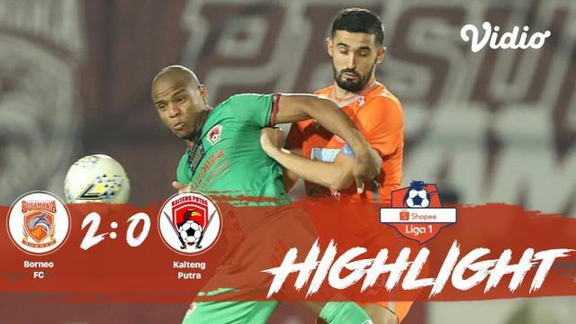 Laga lanjutan #ShopeeLiga1, mempertemukan #BorneoFC vs #KaltengPutra pada hari Selasa malam (22/10/2019) berakhir dengan skor 2-0.